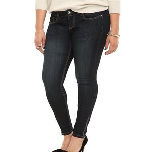 torrid Jeans - Torrid Stilleto Jegging Super Stretch
